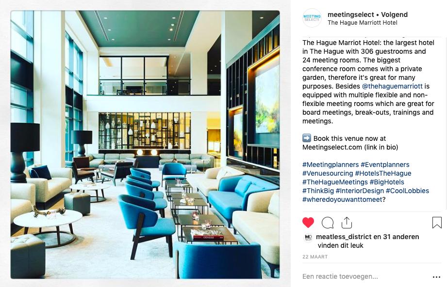 Instagram Meetingselect
