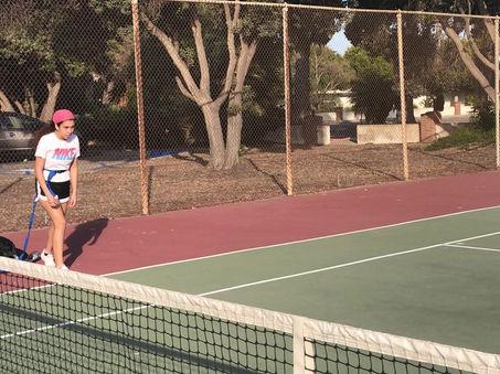 Tennis: Resistance Chute