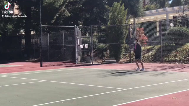 Forehand slice in collaboration with Coach Jackie.