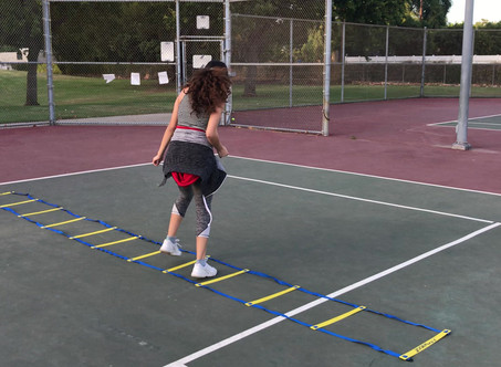 Tennis Ladder Workout
