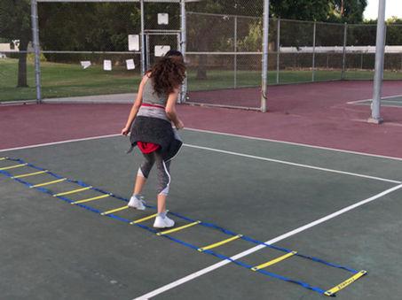Tennis Ladder Workout