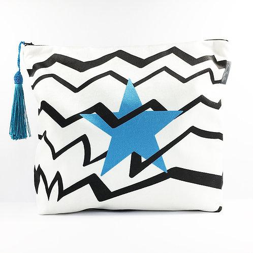 Blue Star Wash Bag