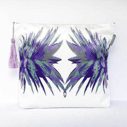 Purple Pineapple Wash Bag