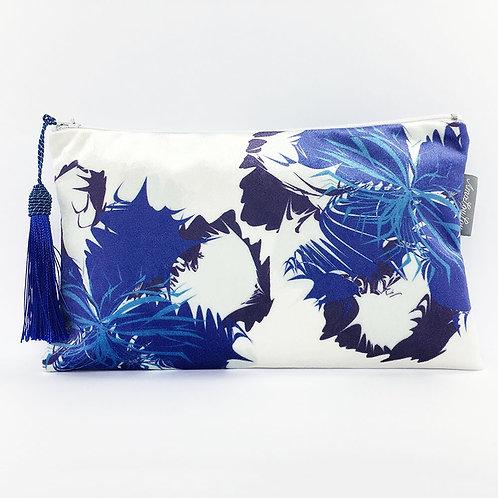 Blue Flower Make Up Bag