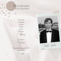Concierto - Pablo Galdo - 19 de setembro