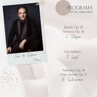 Concierto - Josu de Solaun - 30 de setembro