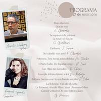 Concierto - Aurelio Viribay e Raquel Lojendio - 24 de setembro