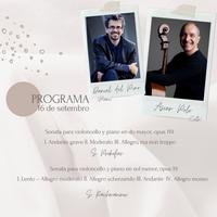 Concierto - Daniel del Pino e Asier Polo - 16 de setembro