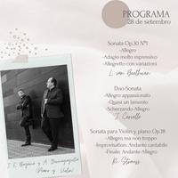 Concierto - J. E. Bagaria e A. Iturriagagoitia - 28 de setembro