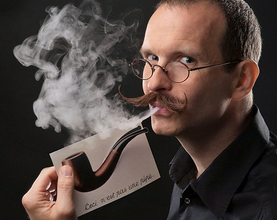 Magritte was wrong - I CAN smoke the pipe!