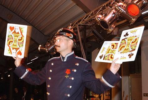 Wilhelm Beetz Bühnen-Show. Zauberei und Berliner Schnauze