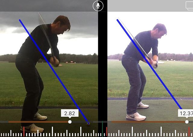 Andrew Ord Showing Us How To Shallow Off His Downswing Transition Helping To Result In A In To Out P