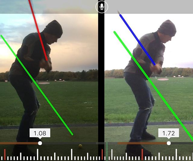 Great Lesson With Craig Showing Us How To Shallow Out Your Swing Plane Resulting In Stop Slicing The