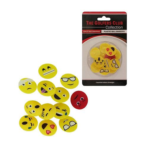 Emoji Ball Markers