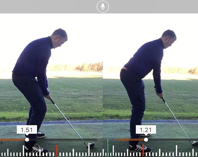 Here Is A Great Postural Change By Christian Today In His First Lesson ✅🏌🏼 #Results #improve #game