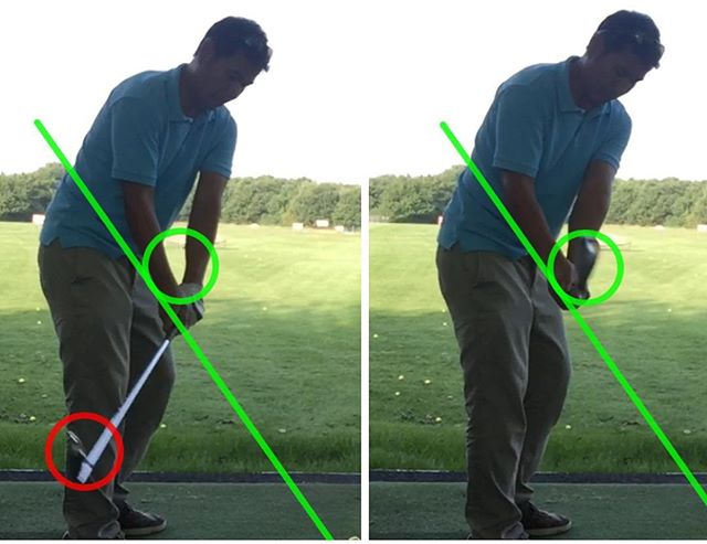 Who Has Great Practice Swings But Can't Get The Same Positions In The Real Swing_...🏌 Is This You_.
