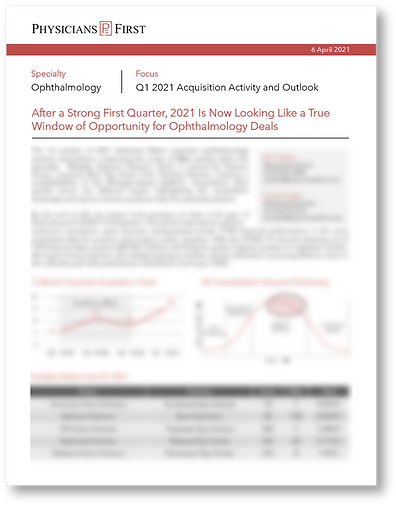 Q121 Ophthalmology Blurred One-Pager Cov