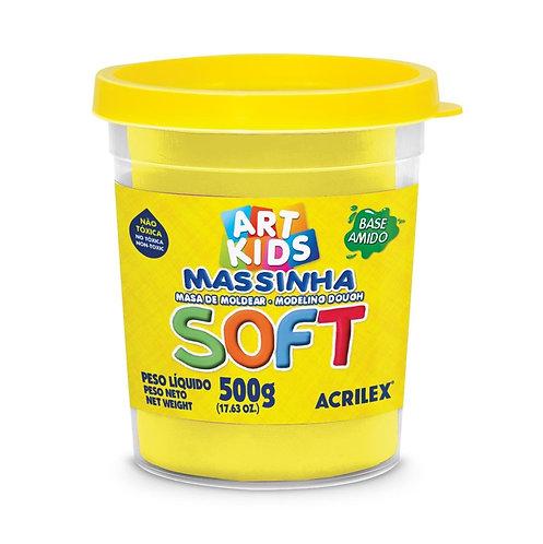 MASSA DE MODELAR SOFT ACRILEX 150G AMARELO LIMAO 102