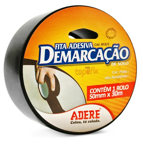 FITA ADESIVA DEMARC  SOLO 50X15 PRETA