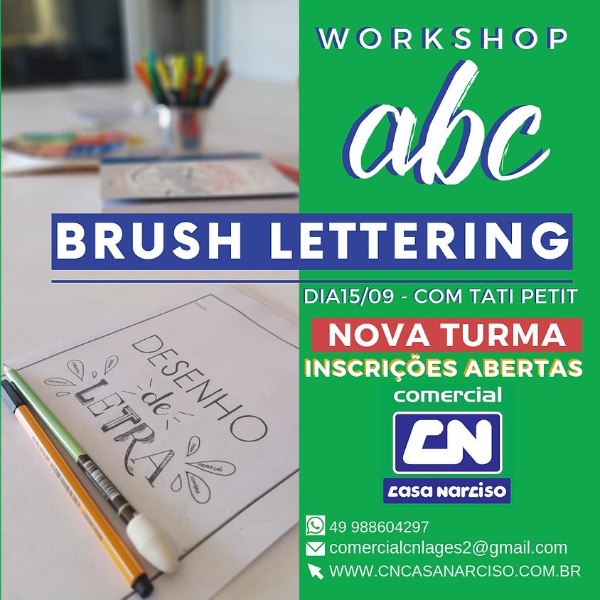 NOVA TURMA WORKSHOP - Brush Lettering