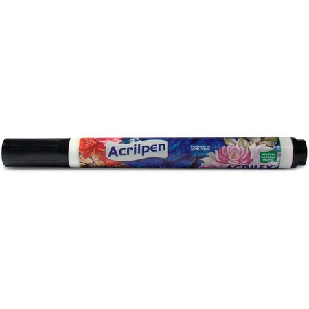 CANETA ACRILPEN ACRILEX 520 PRETO