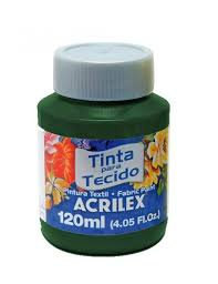 TINTA TECIDO ACRILEX 120ML 545 VD OLIVA