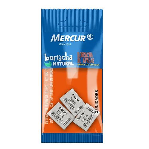 BORRACHA MERCUR 40 CARTELA C 3