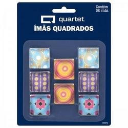 IMA QUADRADO MAGNETICO DECORADO TILIBRA C/8
