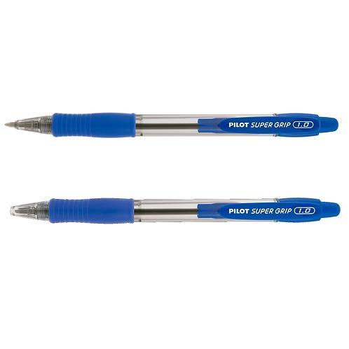 Caneta Pilot Super Grip 1.0 azul