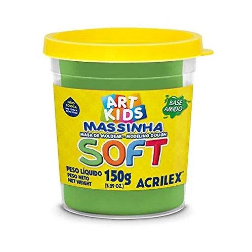 MASSA DE MODELAR SOFT ACRILEX 150G VERDE 101