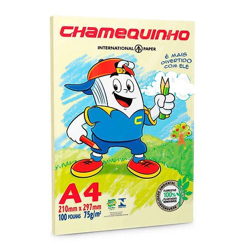 PAPEL CHAMEQUINHO MARFIM A4 C 100