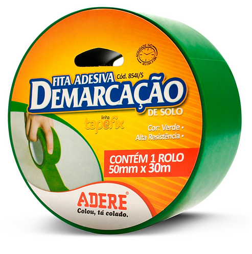 FITA ADESIVA DEMARC  SOLO 50X15 VERDE
