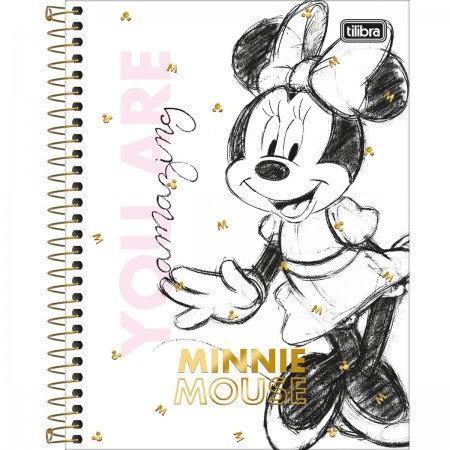 Caderno Colegial Minnie Mouse 10 Matérias Tilibra I