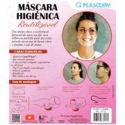 MASCARA HIGIÊNICA EM PP PLASCONY