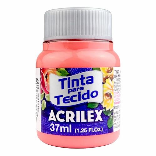 TINTA TECIDO ACRILEX 37ML 829 FLAMINGO