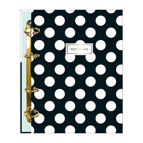 CADERNO FICHARIO WEST VILLAGE TILIBRA