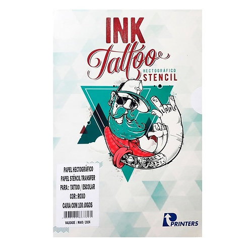 MATRIZ STENCIL INK TATTOO C/50