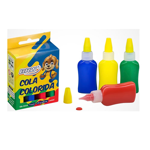 COLA COLORIDA BRW C/4 CORES