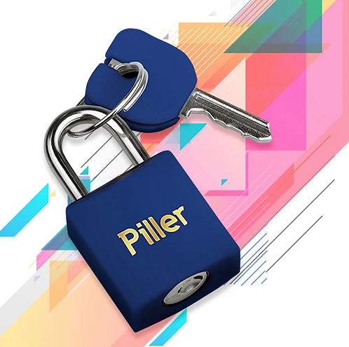 Cadeado Piller 20mm - Azul