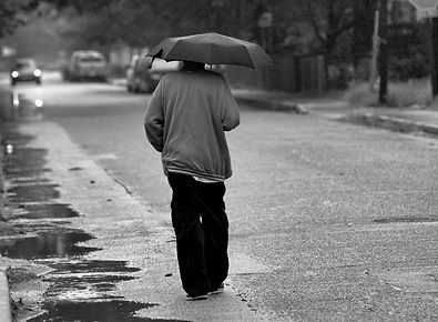 MAN WITH UMBRELLA BW.jpg