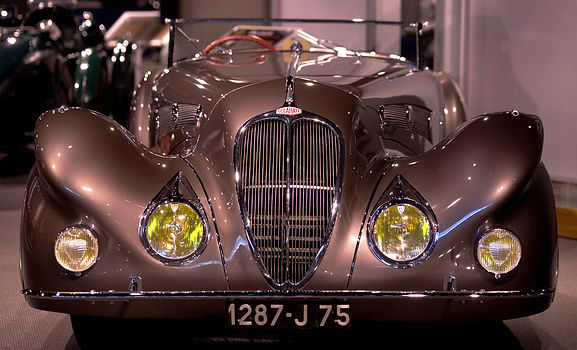 1937 DELAHAYE 135 COMPETITION SPECIAL RO
