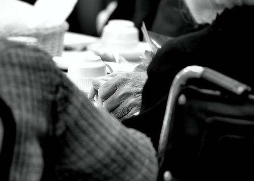 CHLOE AND FRED PRAYING HANDS BW.jpg