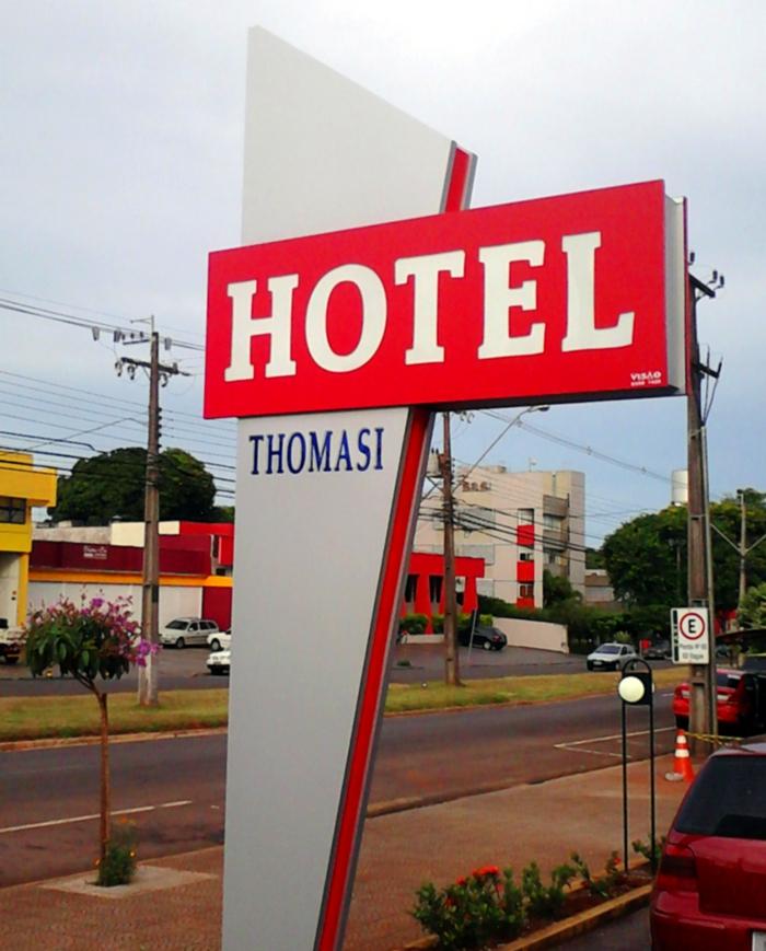 Tótem para Hotel