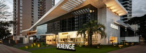 fachada moderna | showroom Plaenge