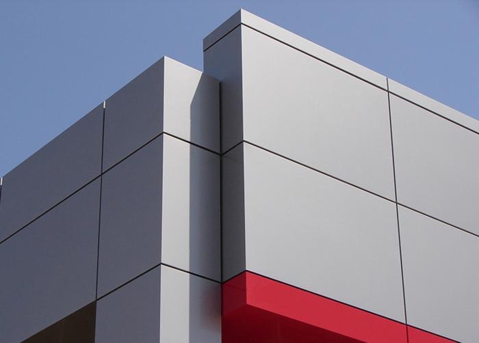 Alumínio ACM em Painéis Modulares