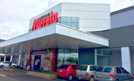 Fachada em ACM de supermercado | VSO Visão