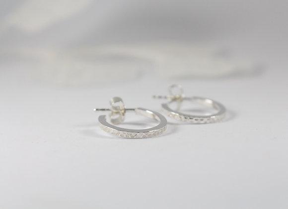 BO | Créoles ovales matifiées