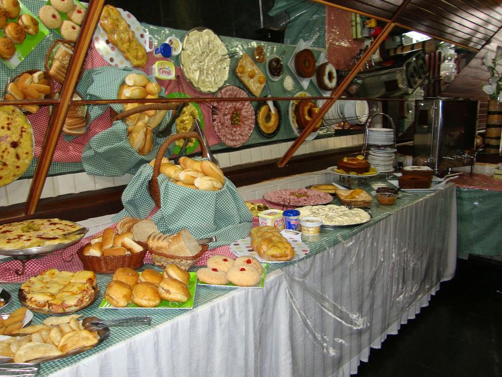 Café da Manhã - Hotel Gaivota