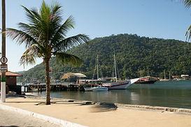 Cais de onde se embarca para o passeio de saveiro pela Ilha de Itacuruçá, assim como se pega os táxis boat para atravessar para as ilhas