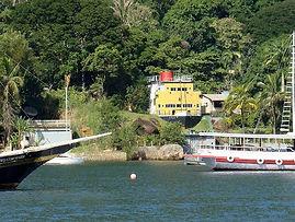 Casa de arquitetura irreverente situada na Praia da Flexeira